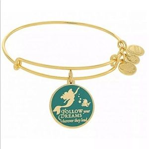 Alex and Ani Jewelry - Alex Ani Ariel Disney Gold Bangle Bracelet NWT